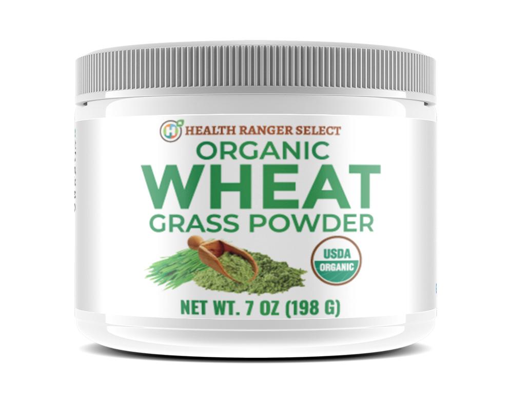 Organic, glyphosate-tested Wheat Grass Powder now ...